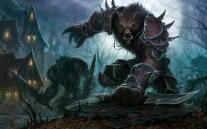 wolf, werewolves
