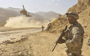 desert, Sikorsky UH, 60 Black Hawk, ISAF, army