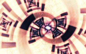 spiral, digital art, abstract, CGI