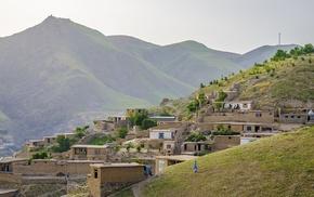 stone house, house, nature, Afghanistan, landscape, Badakhshan