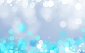 abstract, blue, bokeh