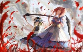 Shikieiki Yamaxanadu, anime, Onozuka Komachi, scythe, Touhou