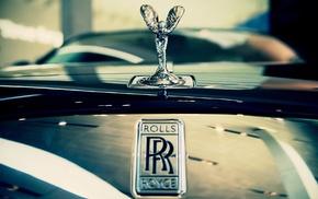 car, brand, logo, Rolls, Royce, closeup