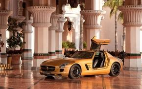 Mercedes, Benz SLS AMG, Mercedes SLS, Mercedes, Benz, car