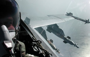 jet fighter, selfies, military aircraft, McDonnell Douglas FA, 18 Hornet