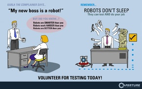 Aperture Laboratories, robot