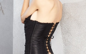 corset, Emily Ratajkowski, ass, model