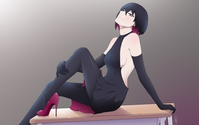 anime, anime girls, Oshino Ougi, Monogatari Series