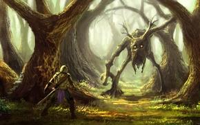 artwork, creature, fantasy art, warrior