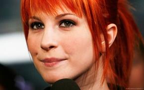 singer, green eyes, redhead, Paramore, Hayley Williams
