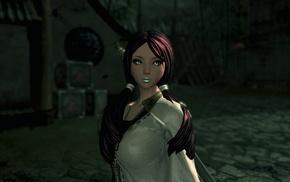 video game girls, screen shot, Blade  Soul, video games