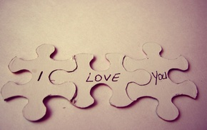 love, puzzles
