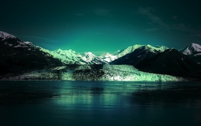 nature, landscape, ice, photography, lake, mountains