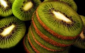 food, fruit, kiwi fruit, macro, photography