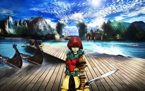 Photoshop, The Pirate Bay, anime, pirates, photo manipulation, fantasy armor