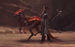 fantasy art, creature