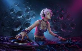 DJ, fantasy art