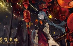 anime, blue hair, anime girls, Hatsune Miku, Vocaloid