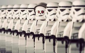 LEGO Star Wars, toys, humor, stormtrooper, white, Star Wars