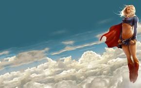illustration, DC Comics, Supergirl