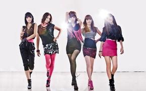 K, pop, 4minute, Korean, Asian, skirt
