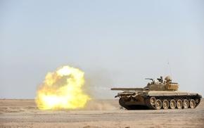 tank, Iraq, military, t, 72, war
