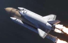 NASA, space shuttle, spaceship, Space Shuttle Endeavour
