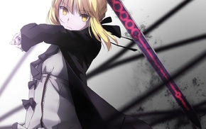 Saber, sword, Saber Alter, Fate Series