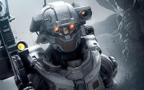 Halo 5 Guardians, artwork, Halo 5, Halo, video games