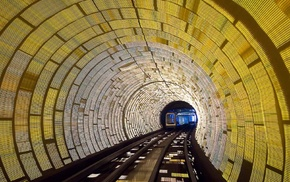 National Geographic, train, railway, lights
