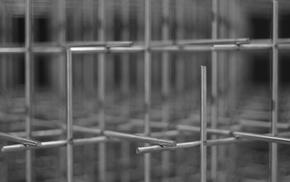 wireframe, wire, monochrome