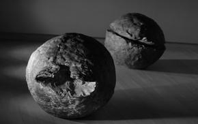 stones, monochrome