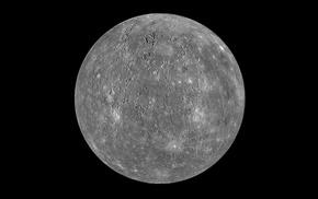 minimalism, space, Mercury