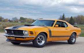 Mustang Boss 302, classic car, Ford