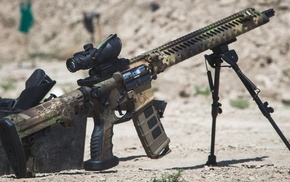 weapon, camouflage, ACOG, AR15, military