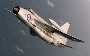 aircraft, English Electric Lightning, military aircraft