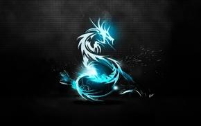 abstract, dragon, fantasy art