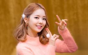 Hyoeun, girl, K, pop, redhead, Stellar