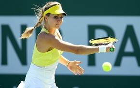 blonde, girl, tennis, tennis rackets, pigtails, Maria Kirilenko