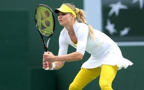 tennis, Maria Kirilenko, tennis rackets, girl