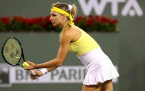 Maria Kirilenko, girl, tennis rackets, tennis