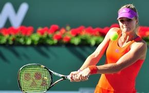 tennis rackets, Maria Kirilenko, girl, tennis