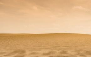 desert, sand, yellow