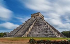 pyramid, Chichen Itza