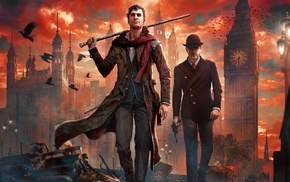 artwork, Sherlock Holmes The Devils Daughter, video games