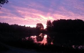 nature, lake
