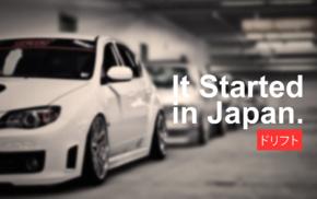 Subaru Impreza, Subaru, JDM, tuning, Japanese cars, car