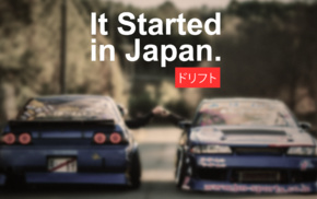 It Started in Japan, Drifting, racing, vehicle, Tuner Car, drift