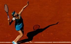 tennis, girl, tennis courts, Maria Sharapova