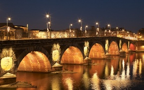 Toulouse, France, Garonne, Pont, Neuf